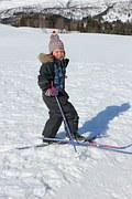 Deti radi lyžujú