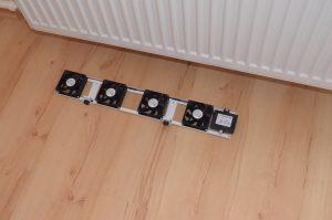 Ventilátor pdo radiátor