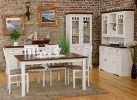 Moderný nábytok z masívu v provensálskom štýle si zamilujete